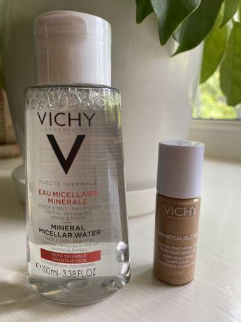 Мицеллярная вода, тональный крем Vichy