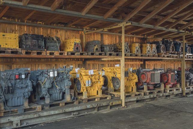 Silnik spalinowy do dźwigu - Mercedes Liebherr Grove Demag Terex