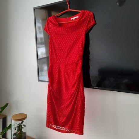 Czerwona sukienka rozmiar S stan idealny Zara