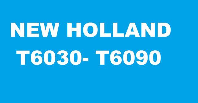 Instrukcja napraw po POLSKU- NEW HOLLAND do serii: T6030#T6070 itp