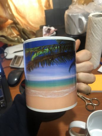 Чашки с любой фотографией 85 грн.
