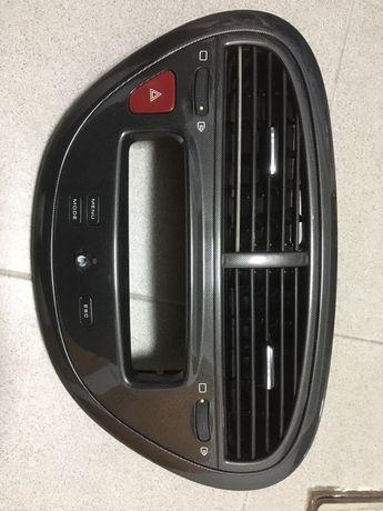 Grelha central Peugeot 607