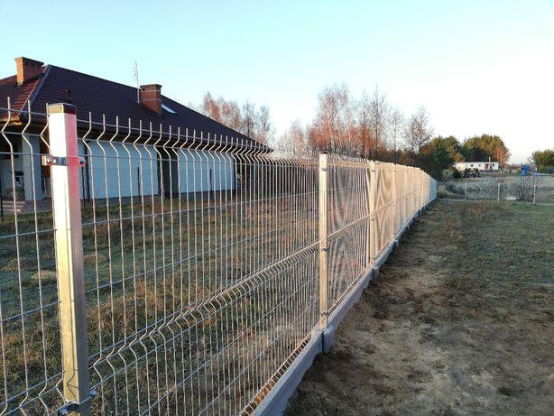 Ogrodzenie Panelowe3D kompletne. Panele ogrodzeniowe Sprzedaż montaż