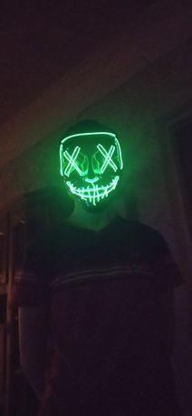 "Маска на хэллоуин ""судная ночь"""