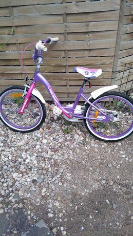 Rower dziecięcy dla dziewczynki koła 20 cali