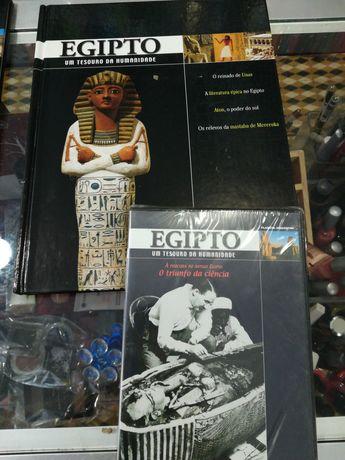 Colecção livros +Dvds Egipto Tesouro da Humanidade
