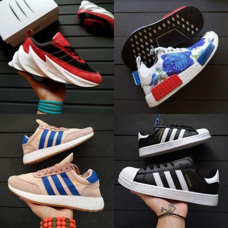 Распродажа женские кроссовки Adidas SHARKS, tubular,iniki,superstar,NM