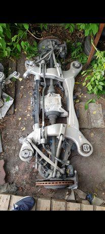 Mercedes W222  kompletny tylny wózek