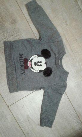 Bluza Rebel Mickey myszka miki 9/12 miesięcy 86