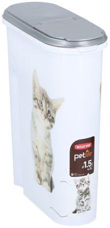 Pojemnik na suchą karmę dla kota Curver 4.5L,1.5kg