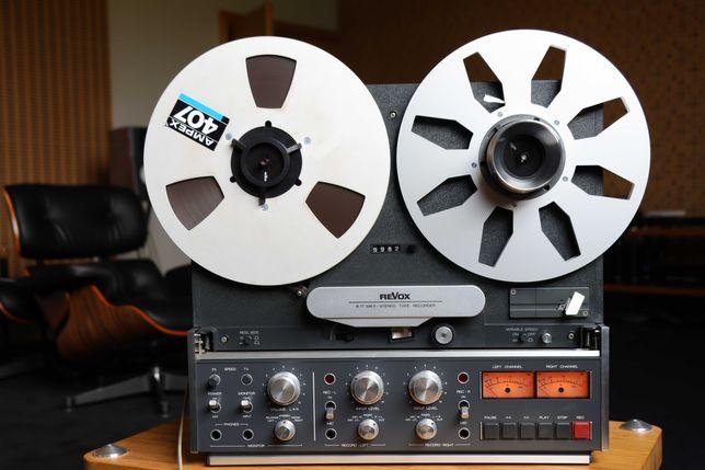 REVOX B77 MKII - leitor e gravador