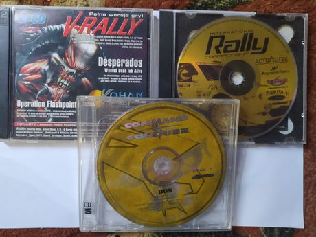 Gry Pc V-Rally Rally Championship i Command & Conquer