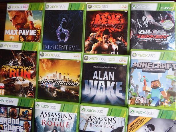 XBOX 360 GTA 5 MINECRAFT Max Payne 3 Tekken 6 Resident Evil Assasins
