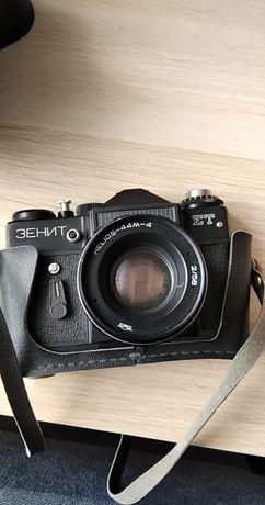 Aparat fotograficzny Zenith ET + Helios 44M-4 2/58