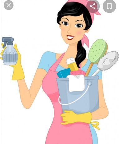 Ofereço-me para limpezas domésticas a hora. Responsável,