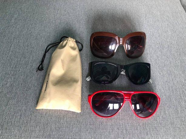 Zestaw 3 par okularów