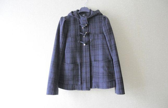 Kurtka płaszcz H&M * 42% wełny * jesień zima