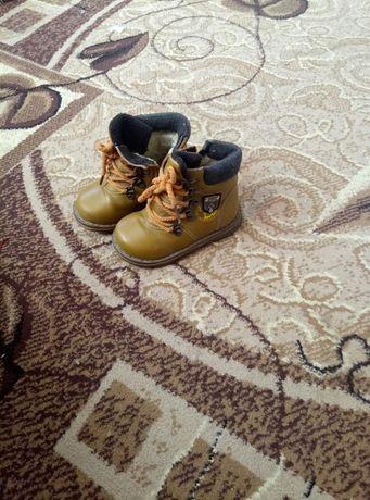 черевички зимові для хлопчика