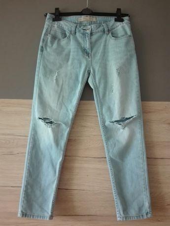 Spodnie jeansy Next Slim roz 38.Dziury przetarcia.Super