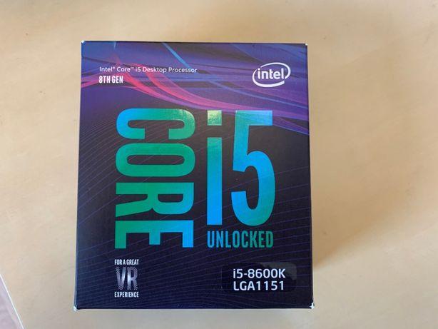 Intel Core i5-8600K na platformę LGA 1151+ chłodzenie Fortis 3