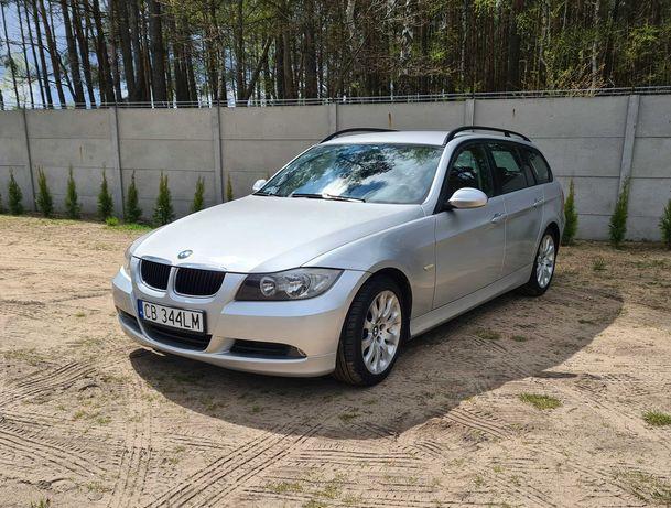 BMW 320 d E91 kombi diesel sprowadzony srebrny