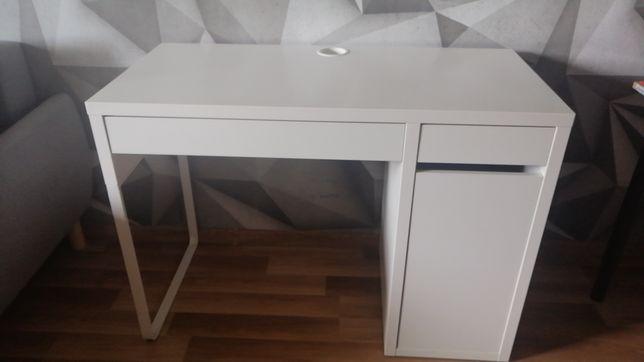Biurko MICKE  Biurko, biały105x50 cm  Ikea