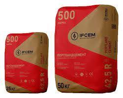 Продажа бетон ЦЕМЕНТ ПЦ-500 заводской 25 кг. Доставка.