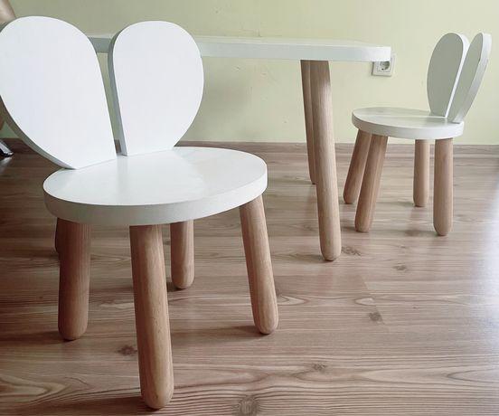 Детский стол и стульчики, деревянная мебель для малышей