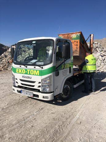 Skip-y/kontenery na odpady śmieci gruz