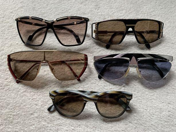 Óculos de sol marcas Persol, Helena Rubinstein, Cazal, Leonard, Alpina
