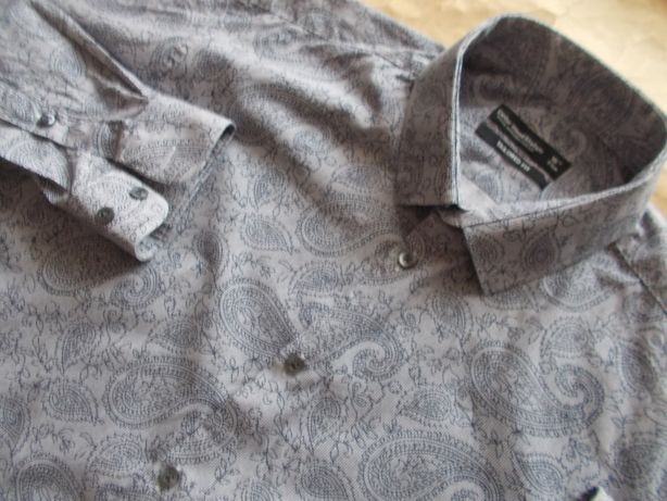 -M/LCEDAR WOOD STATE Premium Koszula Męska M/L 40,5 cm UK
