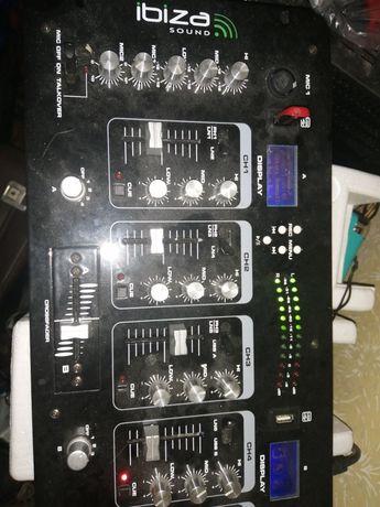 Mixer audio z rejestratorem Ibiza