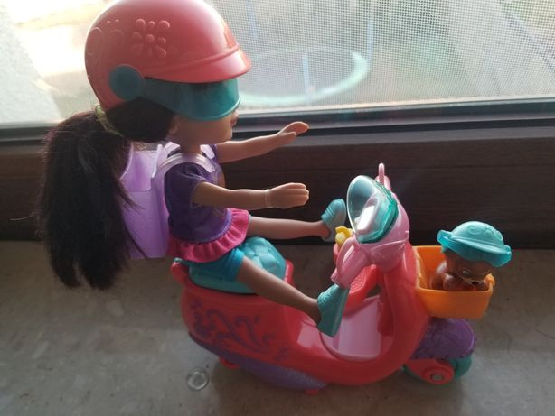 Lalka Dora plus akcesoria