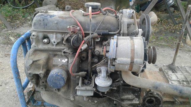 Motor e caixa Renault 4l/f