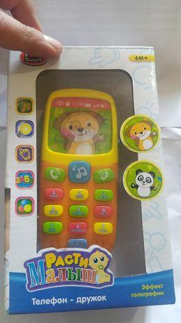 Умный телефон для детей Расти малыш от 6 месяцев