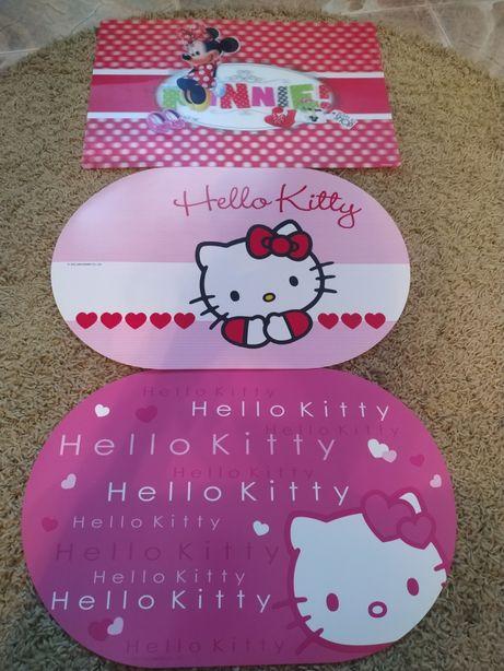 Individuais hello Kitty e Minnie