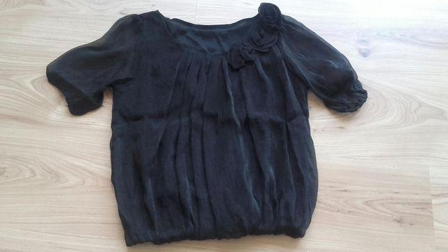 """Sprzedam czarną bluzkę """"bombkę"""" rozmiar XS/S"""