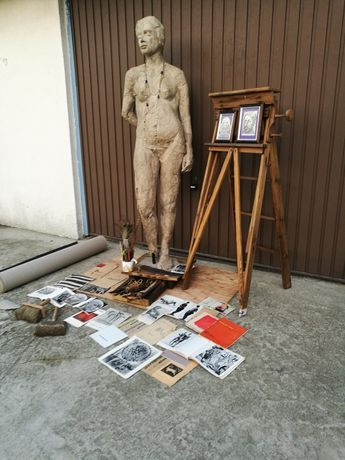 Rzeźba ASP Arche 177cm.