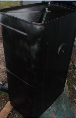 Топливный бак Урал 375 ,оцинкованный ,объём 300 л