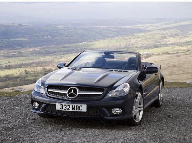 Mercedes SL czesci lift