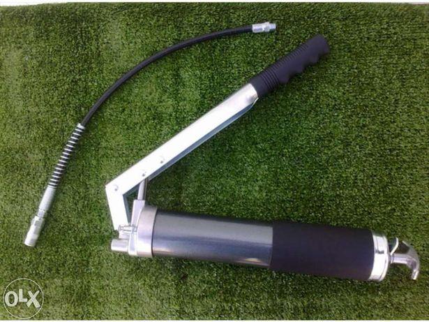 Bomba de lubrificar manual 400gr massa-reforçada
