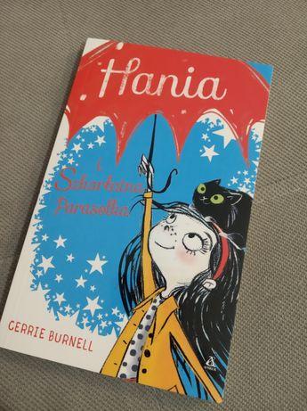 Hania i szkarłatna parasolka wydawnictwo Amber książka dla dzieci