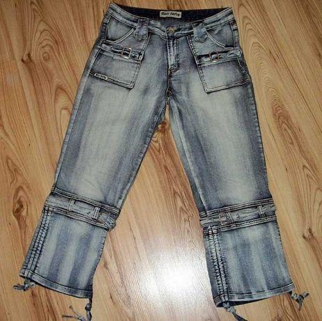 Spodnie damskie jeansy 7/8 marki Miss Softy r. 40