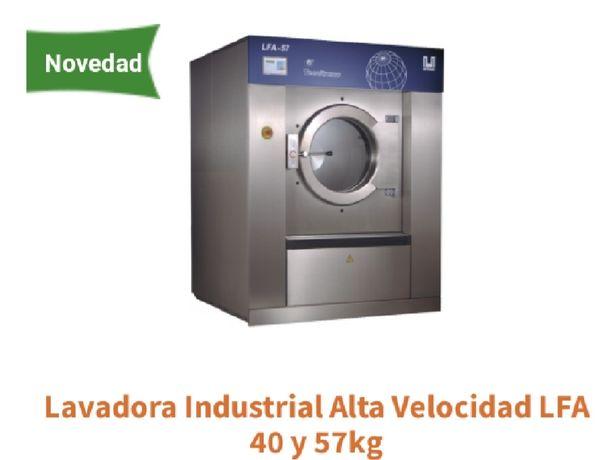 Lavadora têxtil industrial 40/63 kg limpeza a seco e Self service