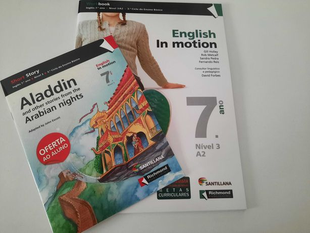 In Motion - Inglês - 7º ano - Caderno de Actividades