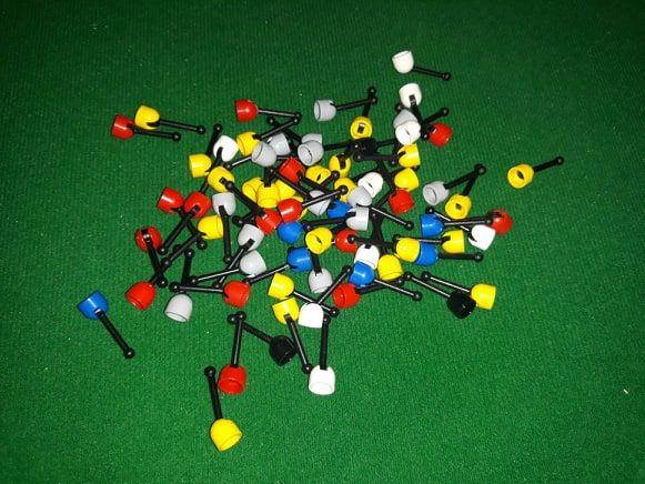LEGO classic SPACE elementy: DZWIGNIE ANTENKI legoland vintage