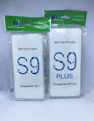 Capa de protecção 360º para Samsung S9 e Samsung S9 Plus