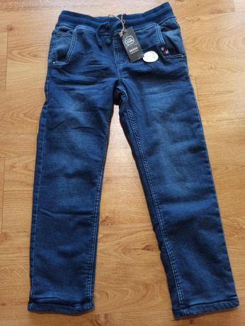 NOWE!!! Jeansy dla chłopca COOL CLUB grube rozm. 140
