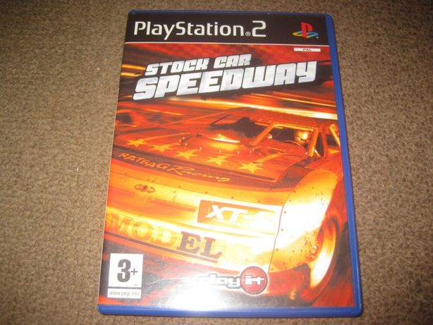 """Jogo """"Stock Car Speedway"""" PS2/Completo!"""