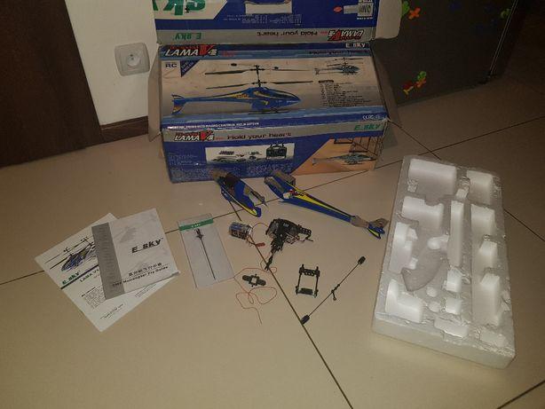Helikopter, Lama V4, elementy modelu